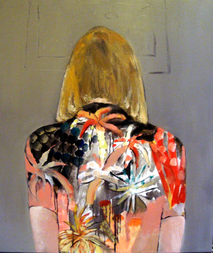 turned around, 2012<br />oil on canvas, 70x60 cm